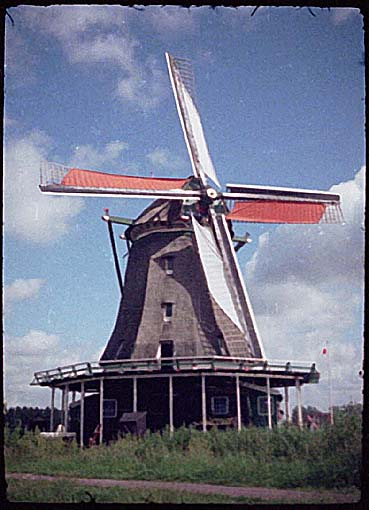 A SINGLE FUNCTIONING WINDMILL