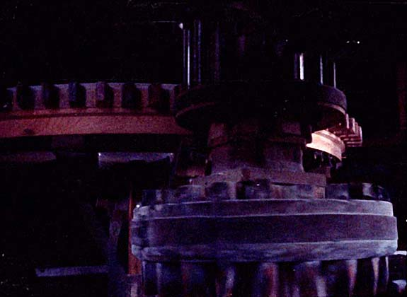 TURNING WINDMILL GEARS