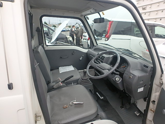 interior of the Sambar Truck